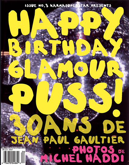 Happy Birthday Glamorous Puss by Michel Haddi